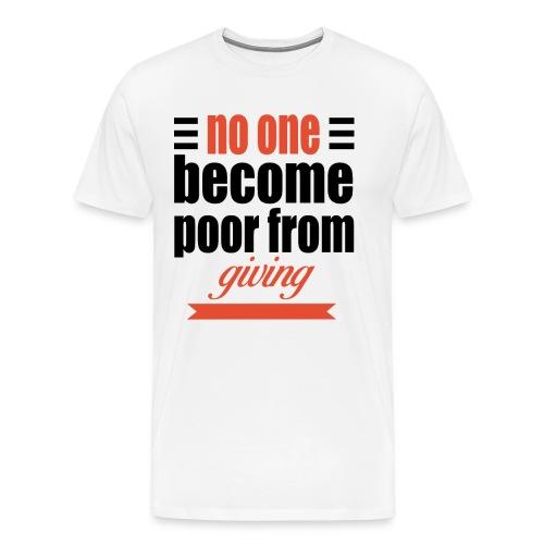 no one become - Men's Premium T-Shirt