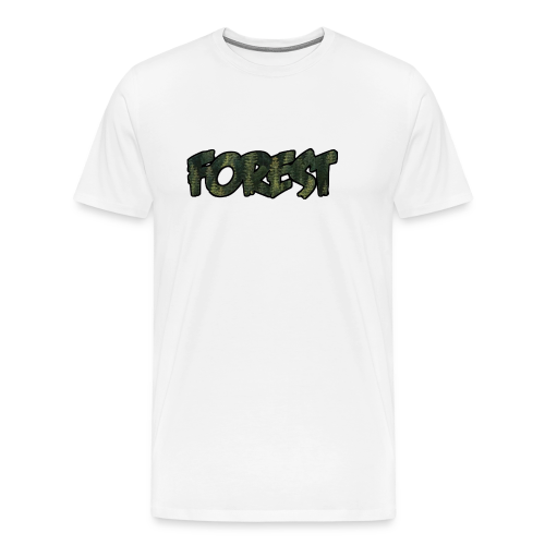 forest teeshirt by simplex clothes - Men's Premium T-Shirt