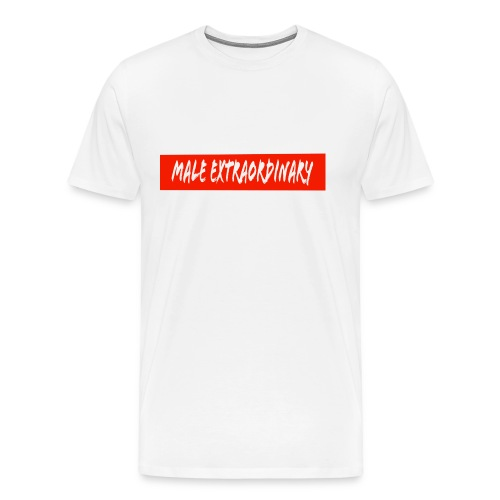Male Extraordinary Supreme Logo - Men's Premium T-Shirt