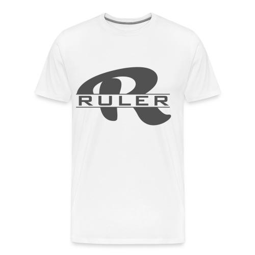 Ruler Logo - Men's Premium T-Shirt