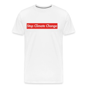 Stop Climate Change - Men's Premium T-Shirt