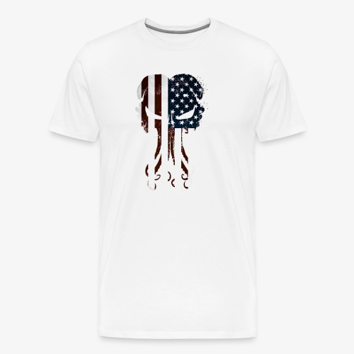Cthulhu America Full - Men's Premium T-Shirt