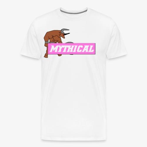 Mythical Logo Design - Men's Premium T-Shirt