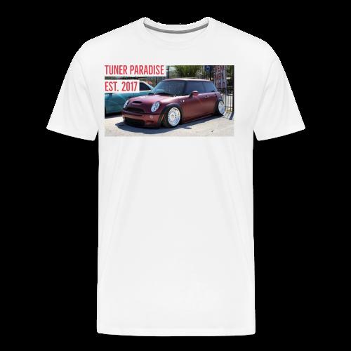 Slammed Mini Cooper S - Men's Premium T-Shirt