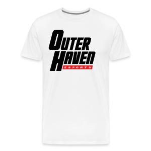 Outer Haven Black Large Logo - Men's Premium T-Shirt