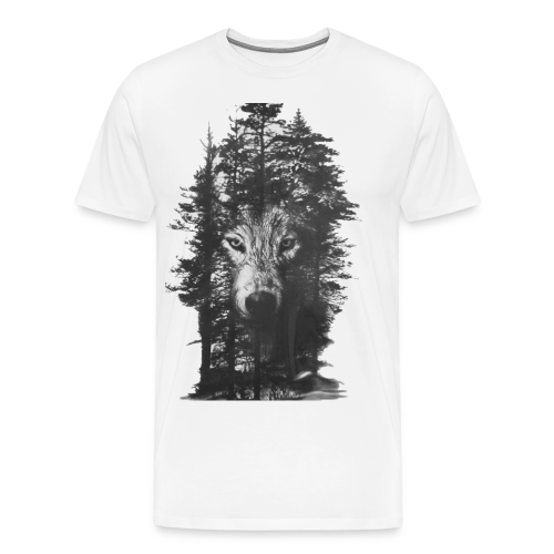 Wolf Forest - Men's Premium T-Shirt