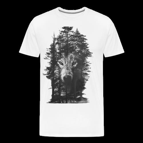 Wolf Forest - Men's Premium T-Shirt