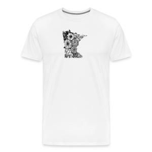 MINNESOTA MN WILDFLOWER - Men's Premium T-Shirt