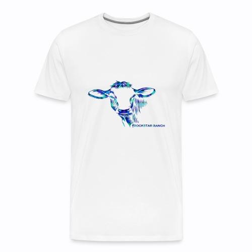 cow multi - Men's Premium T-Shirt