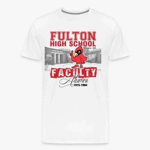FHS Faculty Alumni _WHITE TEE ONLY - Men's Premium T-Shirt