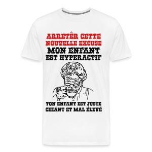 arrêter cette nouvelle excuse - T-shirt premium pour hommes