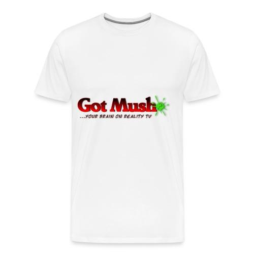 Got Mush? ...your brain on reality tv - Men's Premium T-Shirt