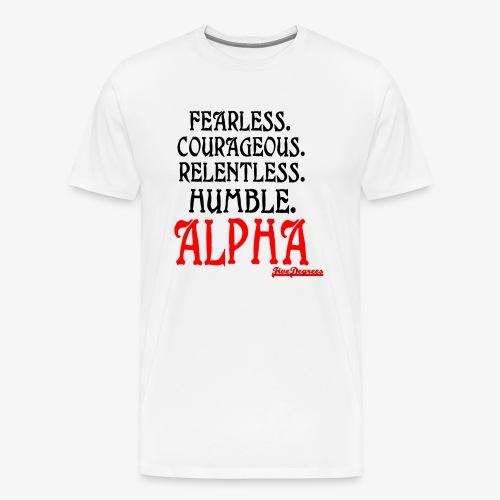 ALPHA2 - Men's Premium T-Shirt