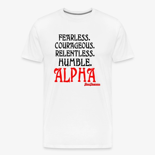 ALPHA2 - Men's Premium T-Shirt