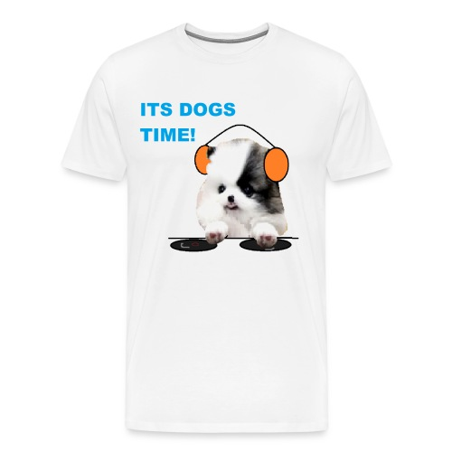 its dogs time! - Men's Premium T-Shirt