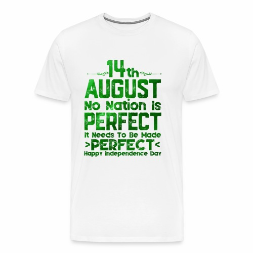14th August Independence Day - Men's Premium T-Shirt