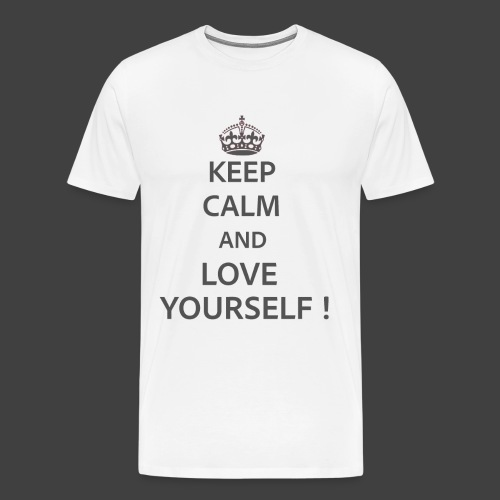 Keep Calm and Love Yourself - Men's Premium T-Shirt