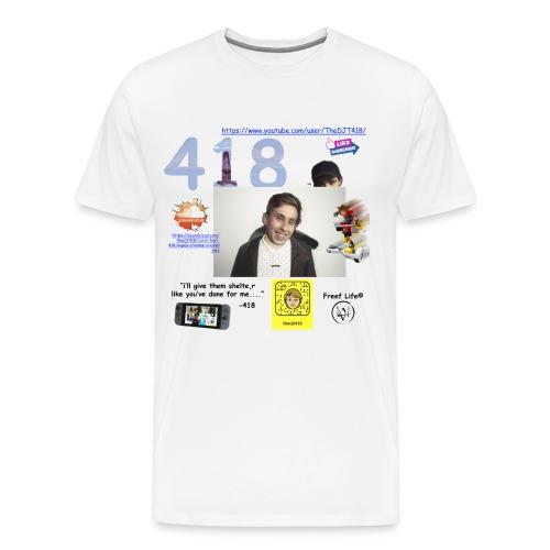418 - Men's Premium T-Shirt