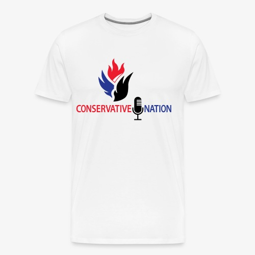 Conservative Nation Double Eagle Collaboration - Men's Premium T-Shirt