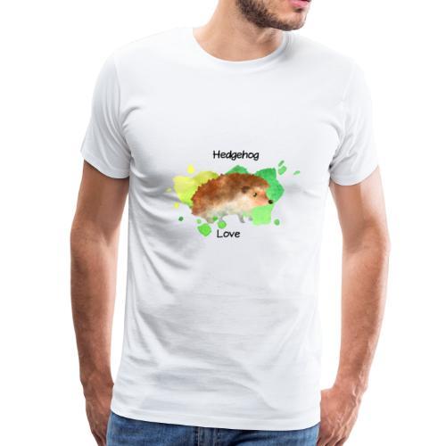 Hedgehog Love - Men's Premium T-Shirt