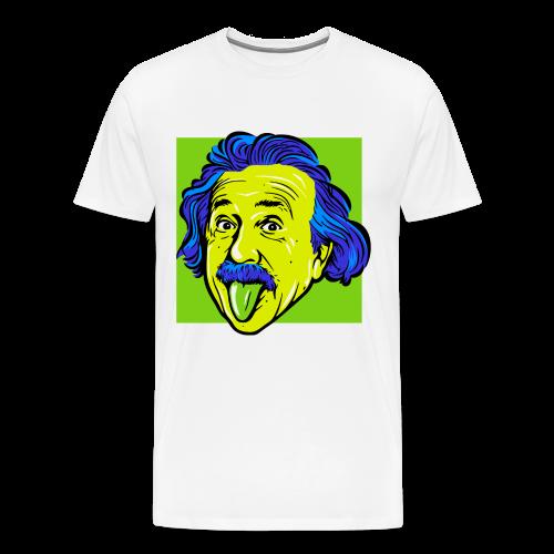 Crazy Einstein - Men's Premium T-Shirt