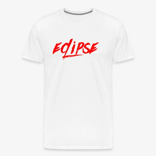 Red Plain Eclipse - Men's Premium T-Shirt