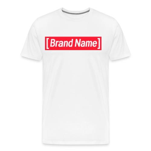 [Brand Name] Classic Logo - Men's Premium T-Shirt
