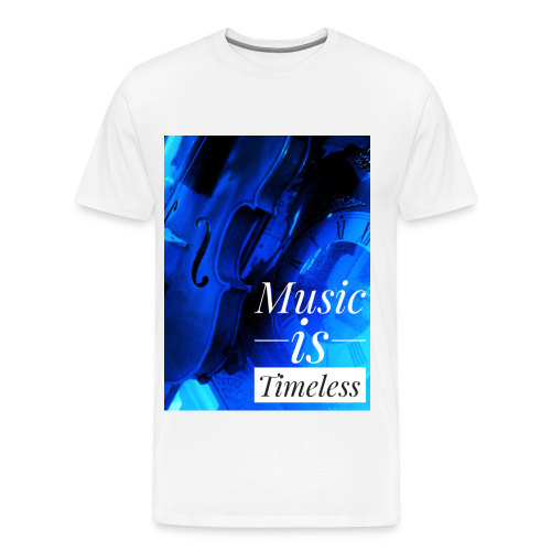 BANKHEAD VIOLINIST Music Is Timeless Original - Men's Premium T-Shirt