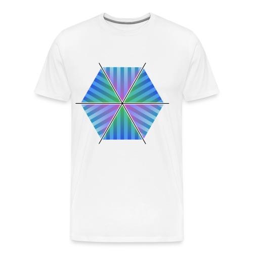 Hexagon of Eternality - Men's Premium T-Shirt