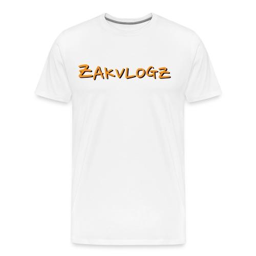 ZakVlogz - Men's Premium T-Shirt