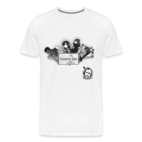 Motivo Cumshot Clan - Men's Premium T-Shirt