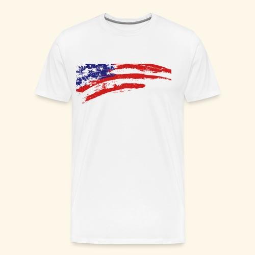 American flag shirt - Men's Premium T-Shirt