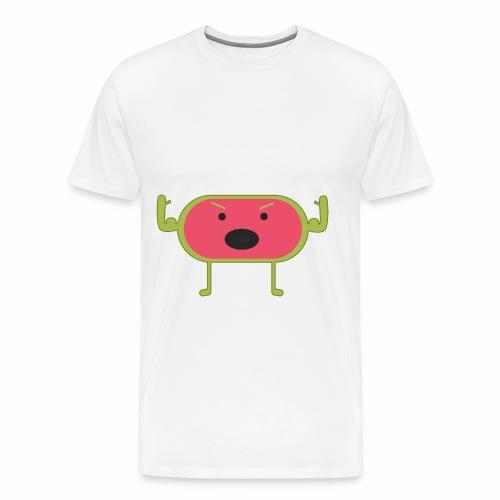 Angry Watermelon - Men's Premium T-Shirt