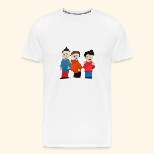 Mark, Will, & Milton! - Men's Premium T-Shirt