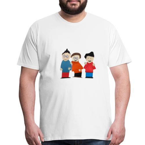 Mark, Will, & Milton! - Men's Premium T-Shirt