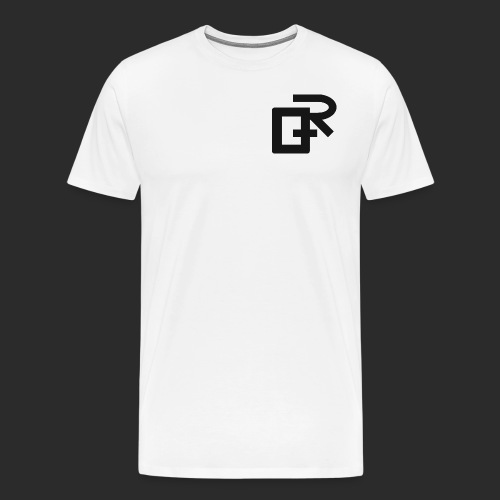 Black RIGANG Logo - Men's Premium T-Shirt