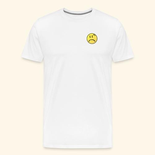 Sad Face JFA Logo (Black) - Men's Premium T-Shirt