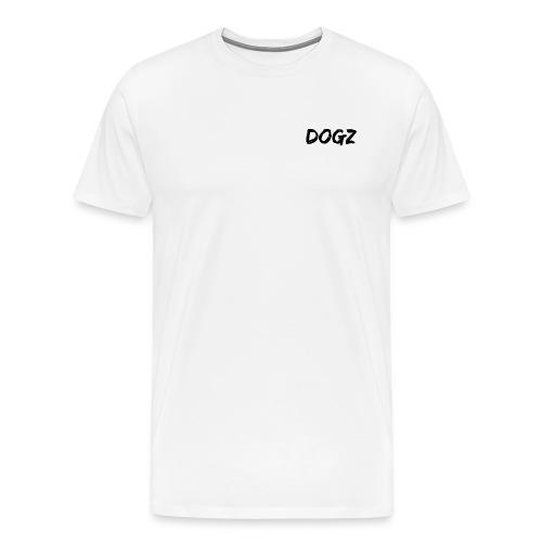 Dogz logo - Men's Premium T-Shirt