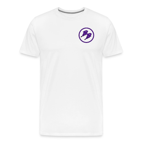 Simple Small Logo Design - Men's Premium T-Shirt
