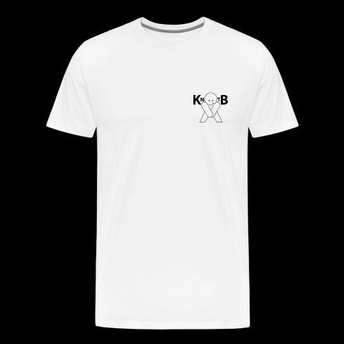 KickNtheBalls Logo 1 - Men's Premium T-Shirt