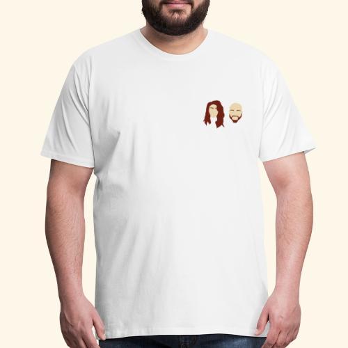 Filmed By Us Logo - Men's Premium T-Shirt
