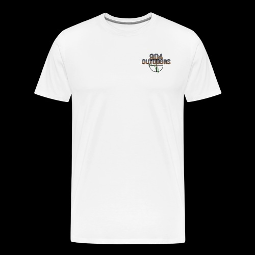 White Logo Shirts - Men's Premium T-Shirt