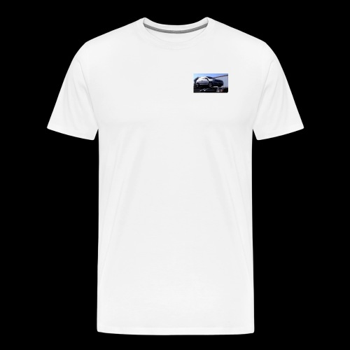 Ballons in a Car - Men's Premium T-Shirt