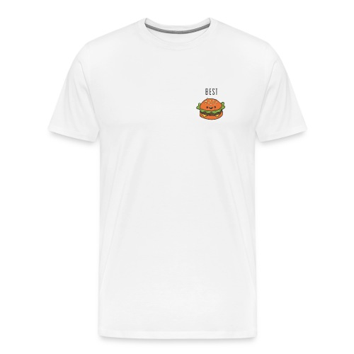 Hamburger best friends - Men's Premium T-Shirt