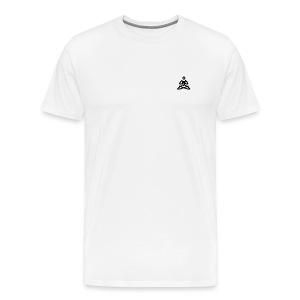 Black Evolution Logo - Men's Premium T-Shirt