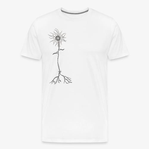 Fleur de la Dépression - Men's Premium T-Shirt
