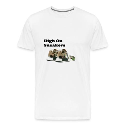 High On Sneakers - Men's Premium T-Shirt