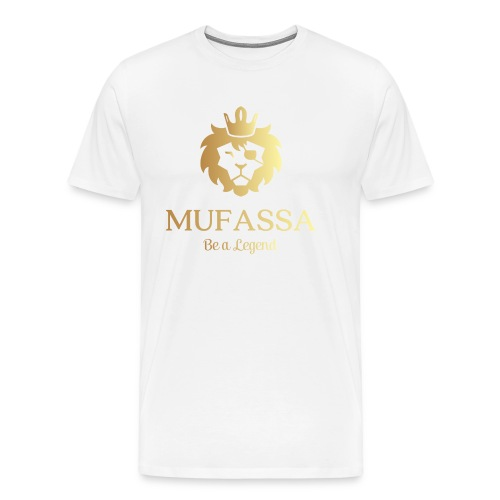 MUFASSA- King your own jungle of life - Men's Premium T-Shirt