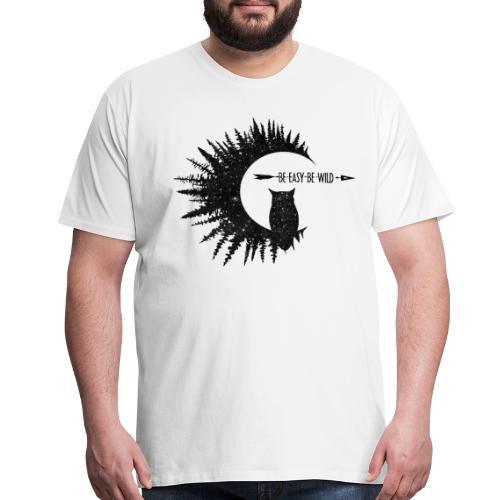 Be Easy Be Owl - Men's Premium T-Shirt