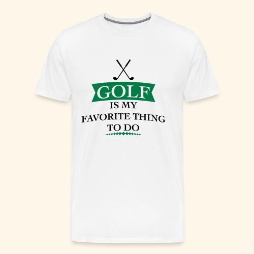 golfer - Men's Premium T-Shirt